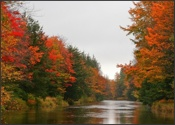 Blackwater River in Fall